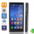 "M3 MTK6582 Ouad-Core Android 4.0.3 GSM Bar Phone w/ 5.0"", Wi-Fi, Dual Network Standby - Black"