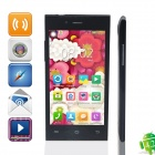 "E7 MTK6589 Ouad-Core Android 4.1.3 GSM Bar Phone w/ 4.5"", Wi-Fi, Dual Network Standby - Black"