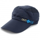 OUTFLY A12026 Spring and Summer Detachable Hat for Men - Blue (Free Size)