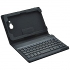 "7"" Bluetooth V3.0 Keyboard & Protective PU Case w/ Stand for Samsung Galaxy Tab3 Lite T110 / T111"