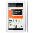"RK30 10,0"" Dual Core Android 4.2 Tablet PC med 1GB RAM, 8 GB ROM, Wi-Fi - hvit + sølv"