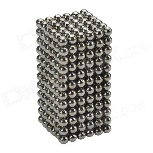 CHEERLINK XB-01 3mm DIY Magnet Balls / Neodymium Iron Educational Toys Set - Silver Black (432 PCS) cheerlink xb 01 3mm diy magnet balls neodymium iron educational toys set silver white 432 pcs