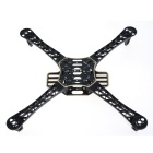 HJ 450 4-axis Frame Kit / Wheel Flame Quadcopter - Black