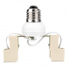 BYa7s-80 4a 1000V E27 LED Adaptador - blanco
