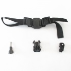 Telesin Vented Helmet Strap for Sony AS30V / AS100V - Black