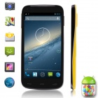 "BLUBOO X1 Quad-Core Android 4.2 WCDMA Bar Phone w/ 5.0"" IPS, GPS, Wi-Fi, FM, Bluetooth - Yellow"