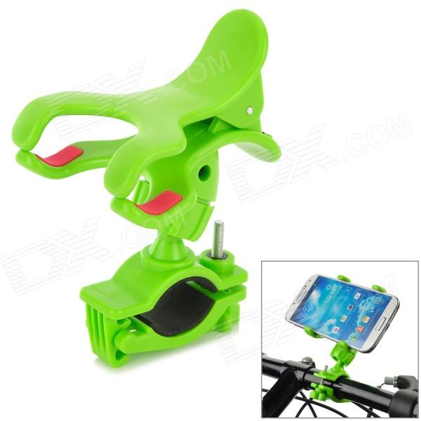 SPO-10 Outdoor Cycling 360 Degree Rotary Bike Cellphone Holder - Green
