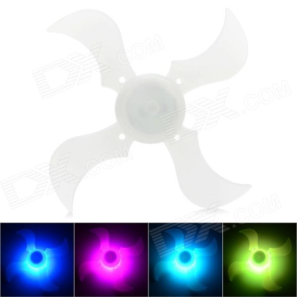 Bicycle Bike 4-Blade 3-Mode Decoration Spoke Light