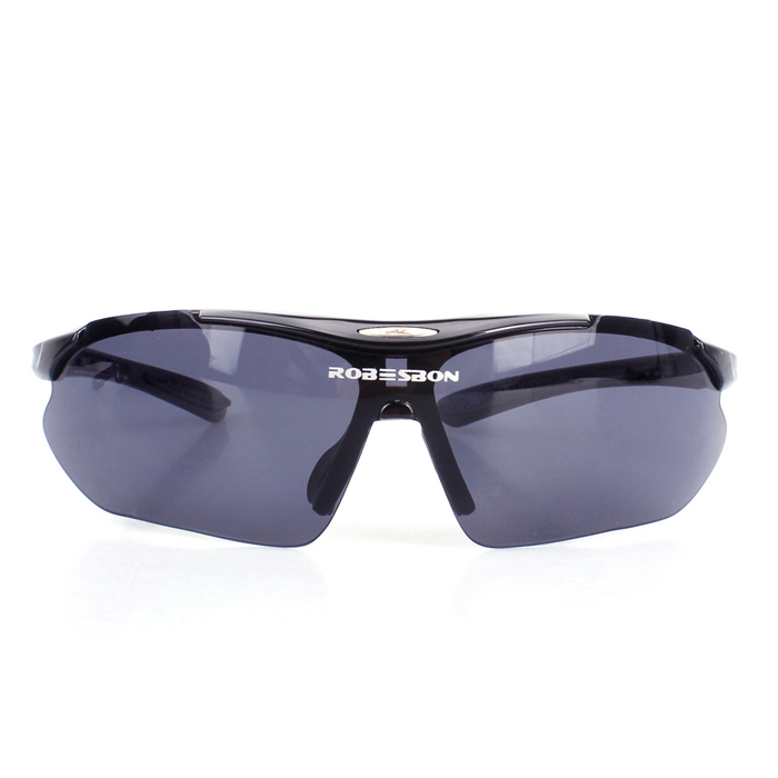 0089 Bicycle Glasses / Outdoor PC Glasses / Sun Glasses - Black bicycle explosion proof glasses outdoor sun glasses yellow black