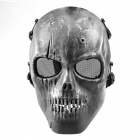 M01 CS Human Skeleton Mask - Silver Black