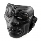 DC - 06 CS Full Face Mask Feltet Mask - Svart
