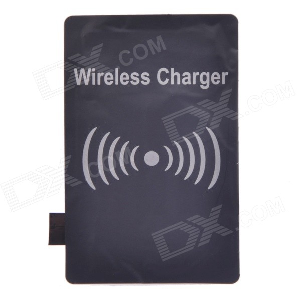 Qi Wireless Charger Receiver for Samsung Galaxy Note 2 / N7100 - Black