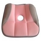Hip Up Beauty Body Pelvic Posture Correction Butt-Shaping Magic Cushion Seat - Pink + Grey