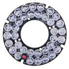 Infrared 36-LED Illuminator Board Plate for 6mm Lens CCTV Security Camera