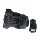 RUIBO 22W 1540lm 8-LED Photographic Light w/ Grip Handle - Black + White
