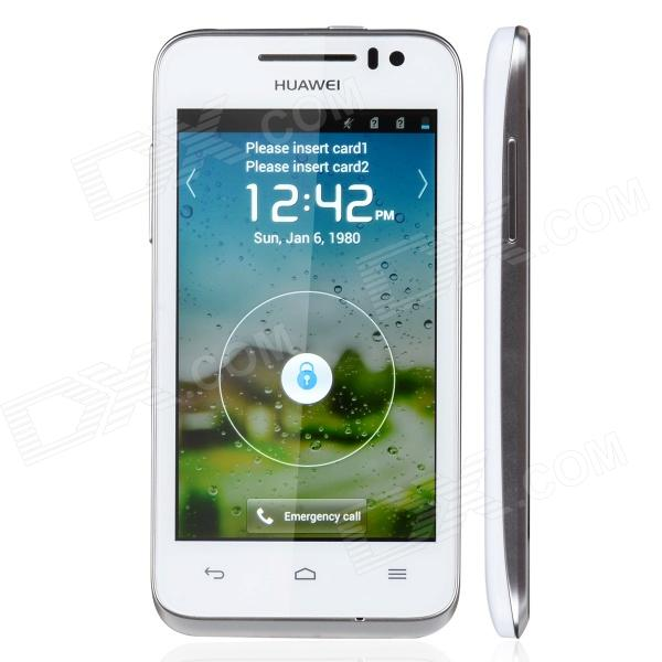 "HUAWEI U8825D capacitif 4.0 ""téléphone écran tactile Android Bar 4,0 w / / WiFi / Bluetooth - blanc"