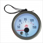 "2"" Oil Temperature Gauge w/ Sensor for Vehicles - silver (50'C~150'C / DC 12V)"