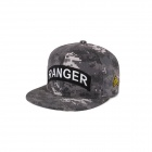 Fashionable Outdoor Hip-Hop Style Cotton Baseball Cap - Digital Camouflage