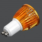 GU10 5W 300lm 6000K 5-LED White Spotlight - Golden (AC 85~265V)