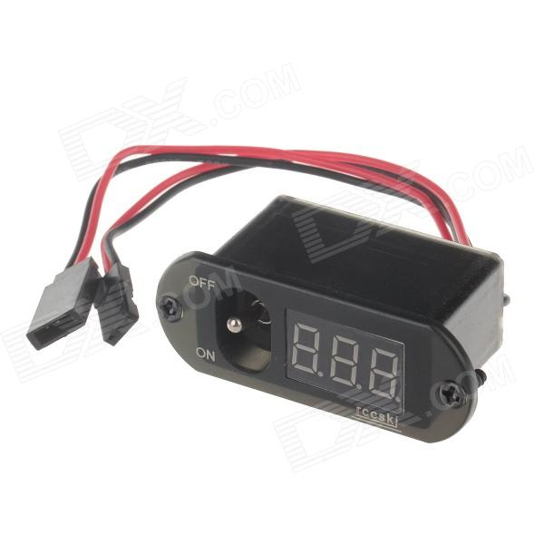 Rccskj 2110 Large Current Digital Voltage Switch - Black кaпот вaз 2110 тaльяти