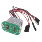 Rccskj 2111 Large Current Two-way Switch - Green + Silver