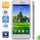 "Haipainoble X3sW MTK6589 Quad-Core Android 4.2.2 WCDMA Bar Phone w/ 5.0"", OTG, GPS - Silver + White"