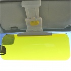 HY-668 Day and Night Nice-view Car Sunvisor - Yellow + Grey