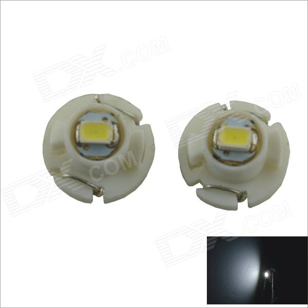 T4.2 0.15W 1-SMD 3020 LED White Light Car Instrument Lamp (12V / 2 PCS)
