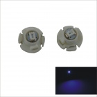 T4.2 0.15W 1-SMD 3020 LED Blue Light Car Instrument Lamp (12V / 2 PCS)