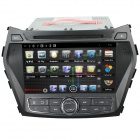 """LsqSTAR 8 """"Android kapazitiver Screen Doppel-DIN-DVD-Spieler w / GPS, Radio, CAN-Bus, TV, Wi-Fi"""
