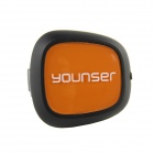 Younser Safe Call Bluetooth Headset med billader - svart + Orange