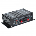 ChengSheng HS-9004 40W 2-CH MP3 Amplifier w/ SD / USB for Car / Motorcycle - Black