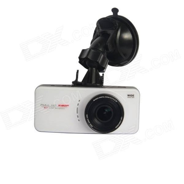 TENYING H.264 2.7 TFT 5.0 MP CMOS 168 Wide Angle Car DVR w/ G-Sensor / GPS IN / AV-OUT / HDMI 940 0 3 mp 1 3 cmos network ip camera w 2 0 lcd time display black 1 x 18650
