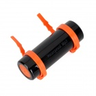 Waterproof Mini MP3 Player w/ 3.5mm Jack / 4GB RAM - Black + Orange