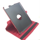 Protective PU Leather 360 Degree Rotation Case for IPAD 2 / 3 / 4 - Red