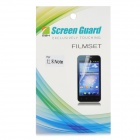 01 Protective Clear PE Screen Protector for Xiaomi Redmi Note - Transparent