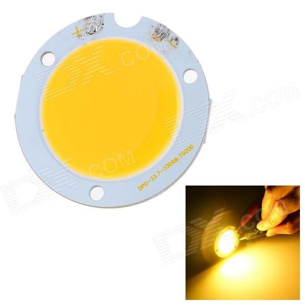 T19 6W 400lm 3000K 18-COB LED Warm White Light Module - Yellow + White (9~12V) f17 5w 320lm 3000k cob led warm white strip light module 6 7 2v