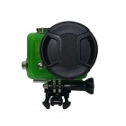 DL 58mm High Precision CNC Aluminum Housing Converter + Underwater Color-Correction for GoPro Hero 3