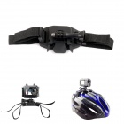 PANNOVO Universal Helmet Strap Mount w/ Quick Assemble Plug + Screw for Gopro Hero 4//2/3/3+/SJ4000
