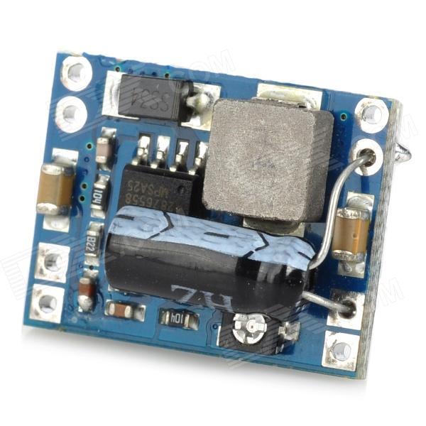 DC Adjustable Buck Module w/ Capacitance - Blue + Black + Silver jiahui tcrt5000 photoelectric sensor module black silver