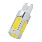 G9 COB 7.5W 350lm 6500K White Light Bulb (85~265V)
