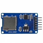 SPI Micro SD / TF Card Adapter v1.1 Module for Arduino - Blue (Works with Official Arduino Board)