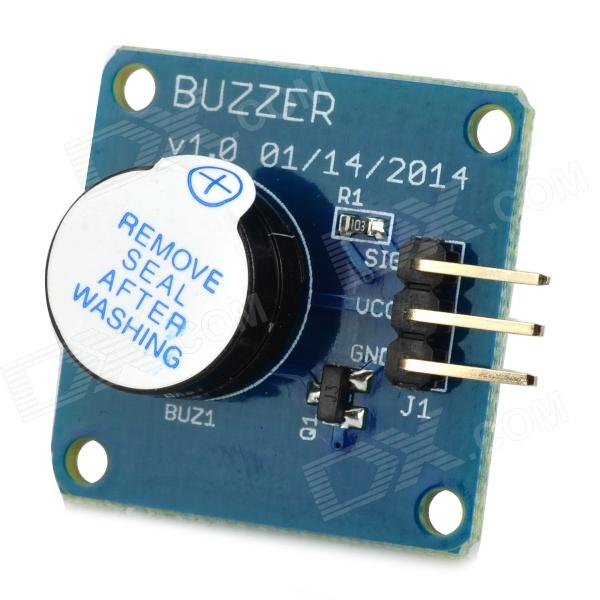 все цены на Active High Level Buzzer Alarm / Speaker Buzzer Module (Works with Official Arduino Boards) онлайн