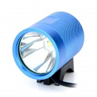 UltraFire MT-40 CREE XM-L T6 600LM 3-Mode Cool White Bicycle Lamp - Blue + Black