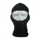 Outdoor Nylon Lycra Swimming Diving Face Mask Cap - Black