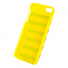 Strass applicati Cassa protettiva posteriore ABS per IPHONE 5 / 5C - giallo dorato + + multicolore