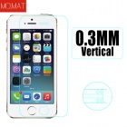 MO.MAT E-Touch MAT005 0.3mm Tempered Glass Screen Protector for IPHONE 5 / 5S / 5C