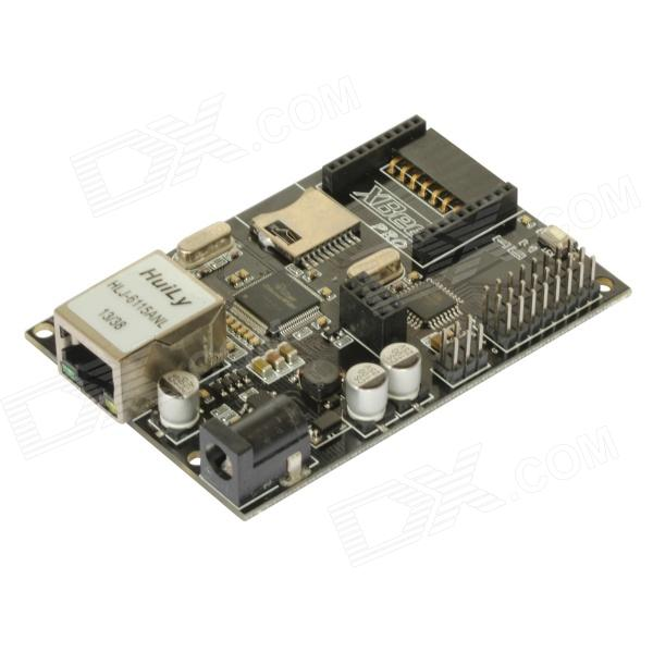 Itead W5100 Ethernet Module Development Board w/ POE / Xbee / MICRO SD Iboard for Arduino - Black free shipping hot sales rotary encoder module brick sensor development board for arduino