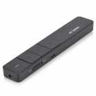 Portable 5mW 650nm Red Laser Flipping / Teaching Pointer Presenter - Black