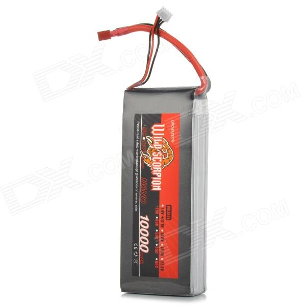 Wild Scorpion Replacement 10000mAh 11.1V 25C Li-ion Battery for 4 / 6-axle Aircraft / R/C Helicopter nobrand scorpion pcb 4 2pc пул